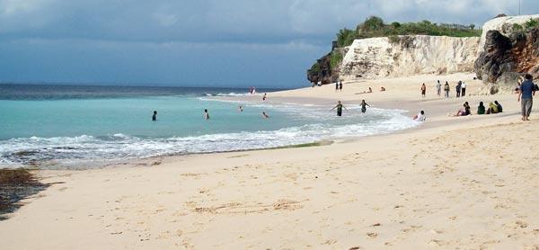 Lokasi Dreamland Bali