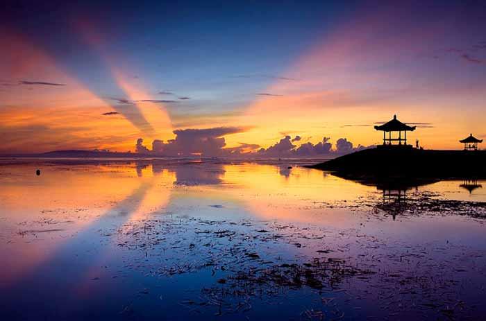 Pantai Sanur Matahari Terbit