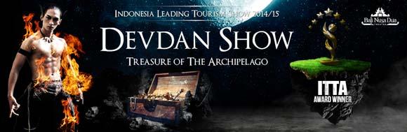 Pertunjukan Devdan Nusa Dua Bali