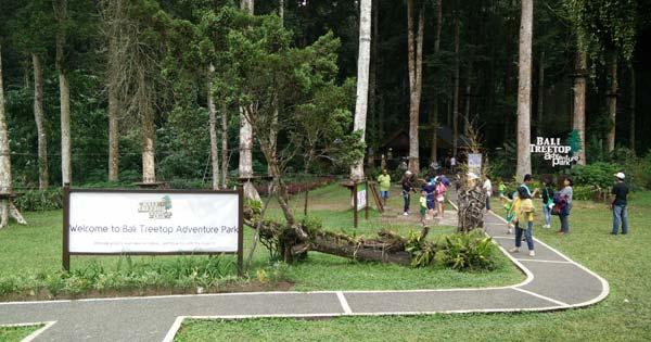Bali Treetop Adventure Park Bedugul