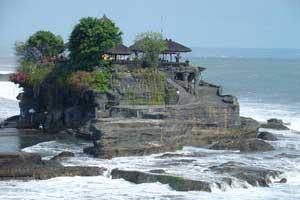 tanah lot Tempat Wisata Di Bali