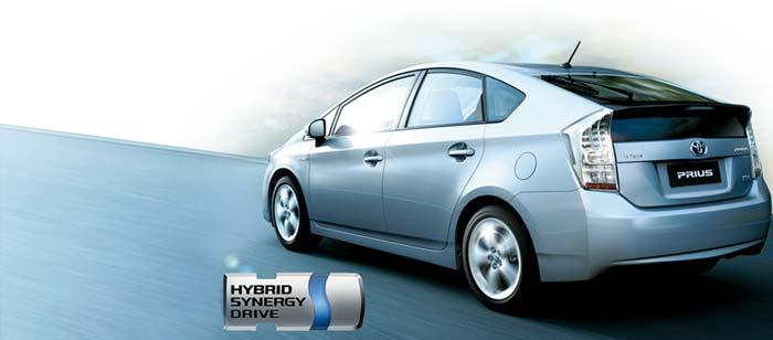 Mobil Hybrid Toyota Prius