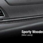 Sporty Wooden Panel Veloz Luxury