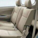 all new avanza second row passenger seat