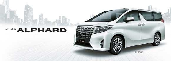Harga Mobil Toyota Alphard Terbaru