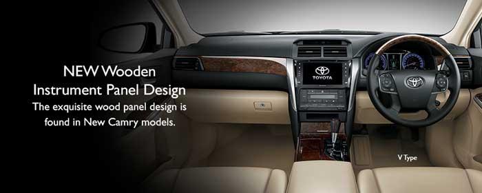 Interior New Camry Tipe V