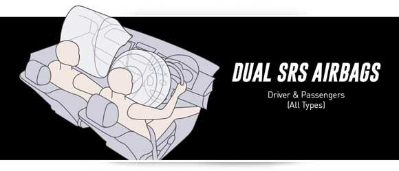 Dual SRS Airbags Toyota Rush Indonesia