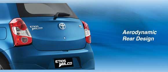 Aerodynamic Rear Design Etios Valco Indonesia