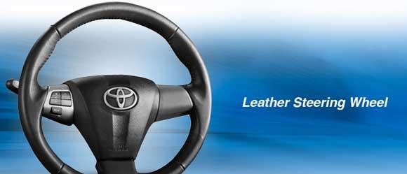 Leather Steering Wheel Steering Swith Etios Valco Indonesia