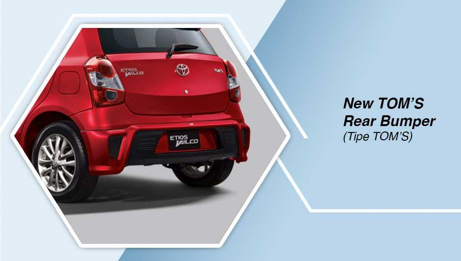 Toyota Etios TOM's Bumper Belakang