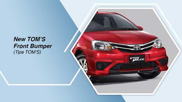 Toyota Etios TOM's Bumper Depan