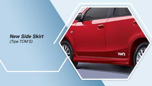Toyota Etios TOM's Side Skirt