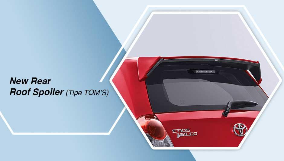 Toyota Etios TOM's Spoiler Belakang