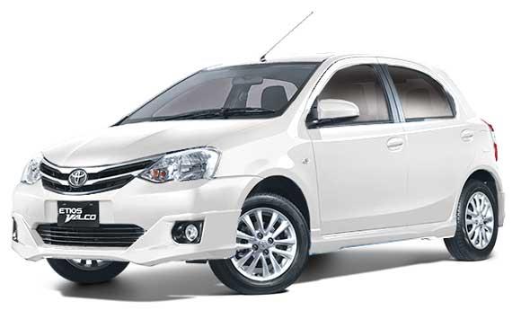 Toyota Etios Valco Warna Putih