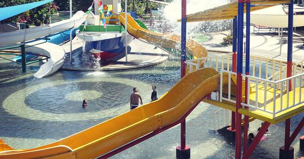 Kids Pool Circus Water Park Kuta