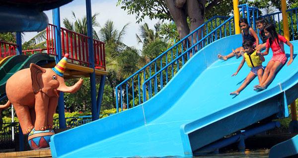 Wahana Family Slider Kuta Bali