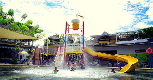 Wahana Spill Bucket Kuta Bali