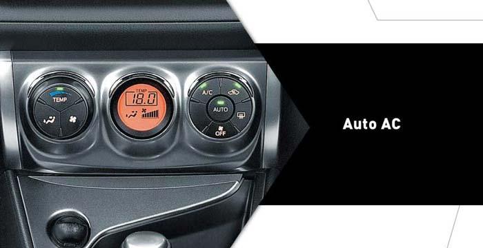 auto air conditioning yaris