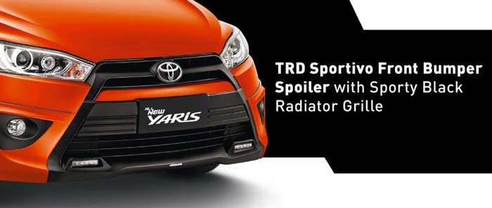 front grille toyota yaris