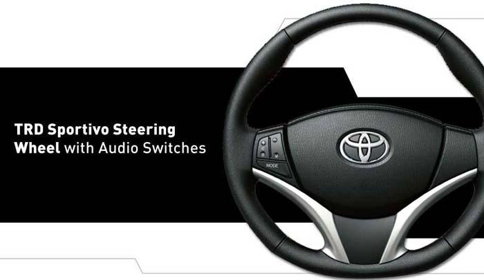 steering wheel Yaris