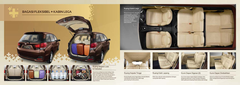 Bagasi Fleksibel Kabin Lega Honda Mobilio