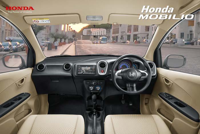 Dashboard Honda Mobilio Indonesia