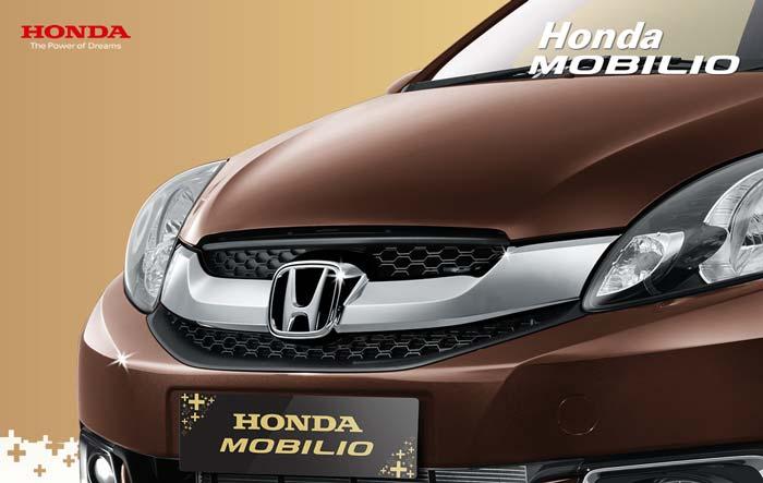 Tampak Depan Honda Mobilio Indonesia