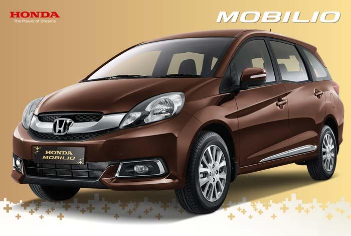 Tampak Samping Depan Mobilio Indonesia