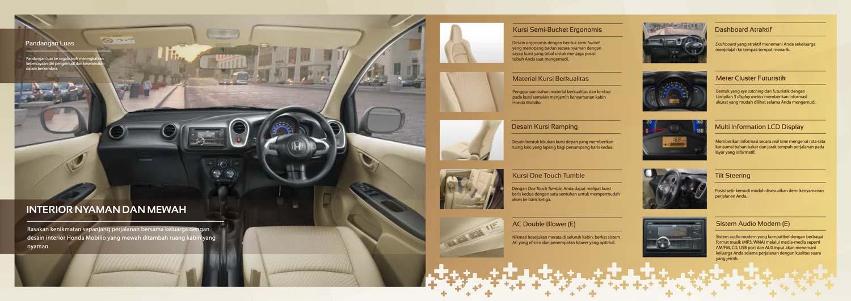 keungggulan design interior Honda Mobilio