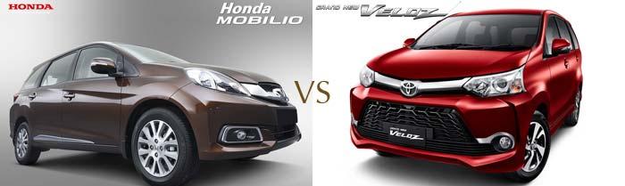 Honda Mobilio VS Avanza Veloz
