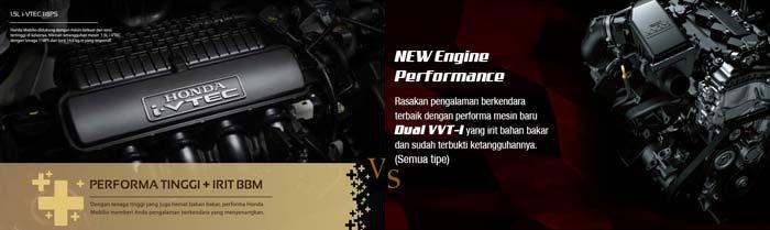 mesin Honda Mobilio VS mesin Grand New Veloz