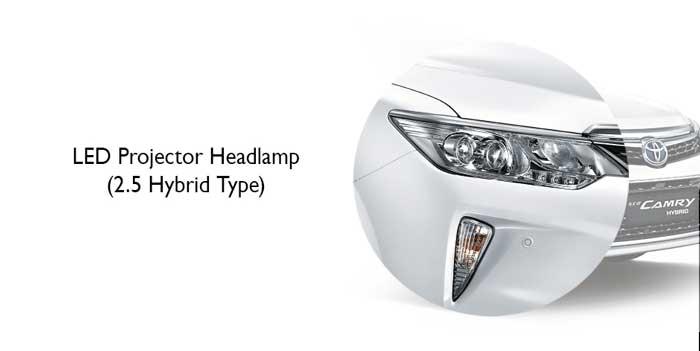 LED Projector Headlamp New Camry Hybrid