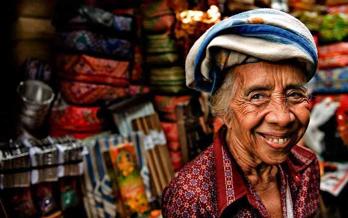 Ibu di Pasar - 10 foto membuat wisatawan berlibur ke ubud