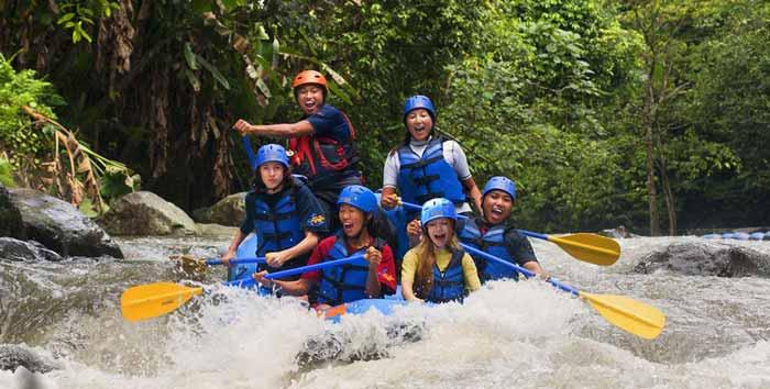 ayung rafting ubud - 10 foto membuat wisatawan berlibur ke ubud