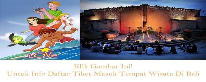 daftar tiket masuk tempat wisata di Bali