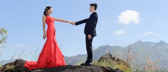 Foto Pre Wedding Gunung Batur Bali