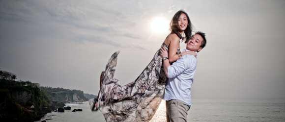 prewedding di tebing Pantai Tegal Wangi Bali - 10 tempat prewedding di bali