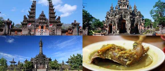 Bali Paket Tour Denpasar Half Day