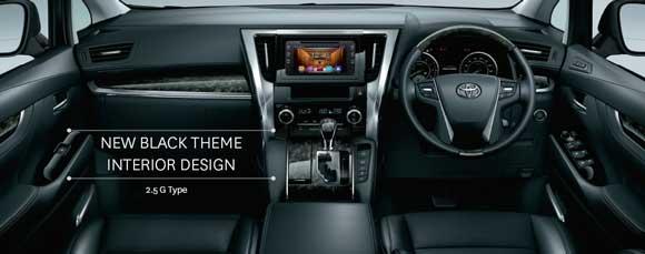 Desain Interior Toyota Vellfire Indonesia