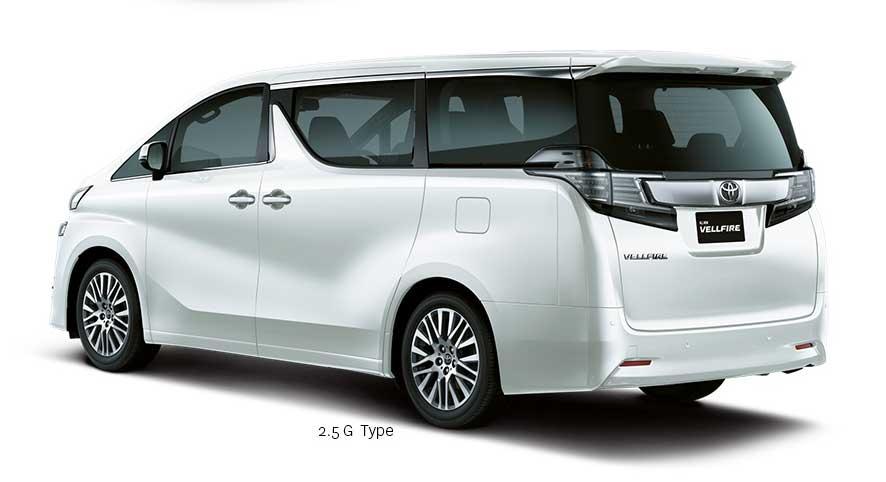 Eksterior Belakang All New Toyota Vellfire Indonesia