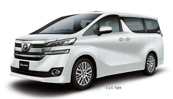 Eksterior Depan All New Toyota Vellfire Indonesia