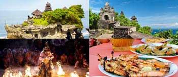Paket Tour Tanah Lot Uluwatu Setengah Hari