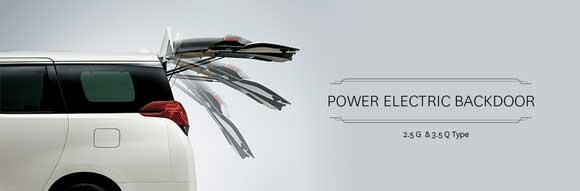 Power Electric Backdoor Toyota Alphard