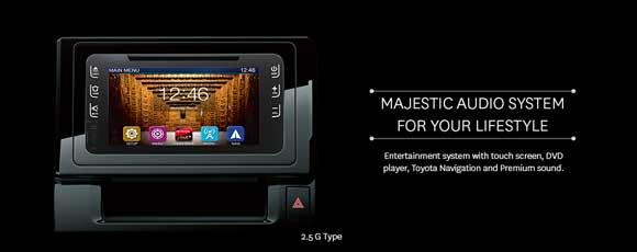 Sistem Audio Toyota Vellfire Indonesia
