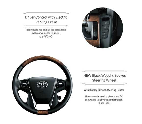 Stering Wheel Toyota Alphard