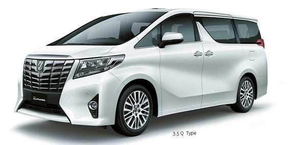 Tampilan Depan All New Toyota Alphard Indonesia