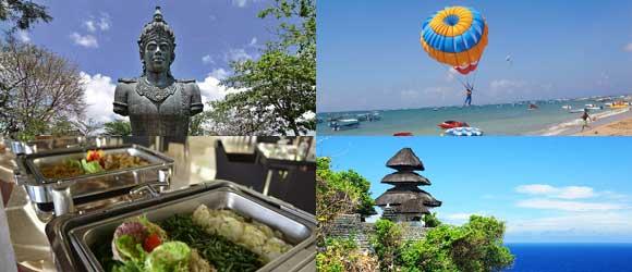 Tanjung Benoa GWK Uluwatu Tour