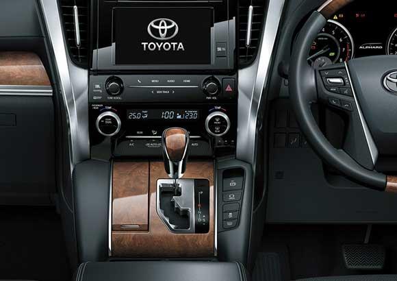 Transmisi All New Toyota Alphard Indonesia