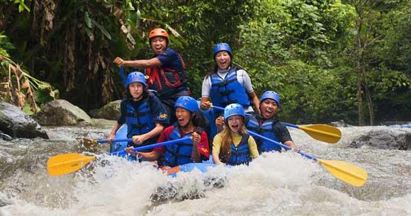 Bali Sobek Rafting Ayung Ubud