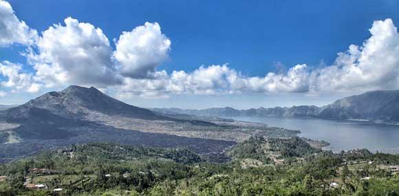 pemandangan tempat wisata kintamani Bali